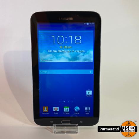 Samsung Galaxy Tab 3 Lite 7'' 8GB Zwart  | Goede Staat