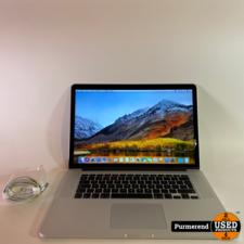 Apple Macbook Pro 15'' Early 2013 i7 2.4GHz 8GB RAM 256GB SSD Gebruikt