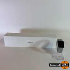 Apple Apple Watch Series 3 38mm Zilver | Nette Staat