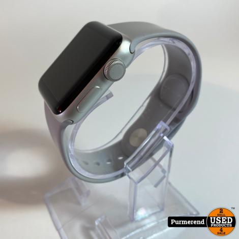 Apple Watch Series 3 38mm Zilver | Nette Staat