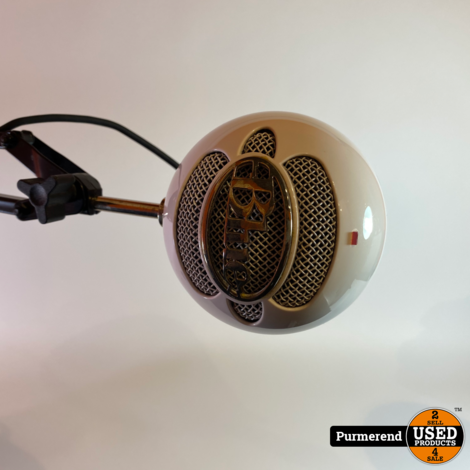 Blue Snowball Ice USB Microfoon + Bureau stand | Goede Staat