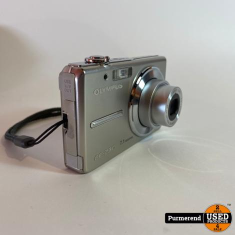 Olympus FE-230 Digitale Foto Camera Zilver | Nette Staat