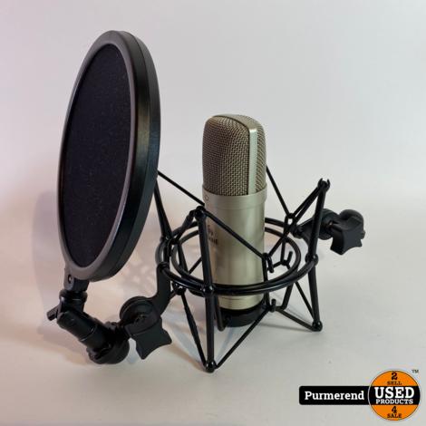 Devine USB-1 Microfoon + Popfilter   Nette Staat
