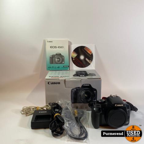 Canon 450D Body | Nette Staat