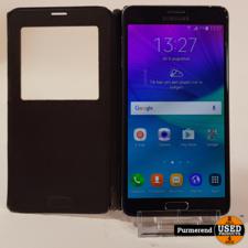 Samsung Samsung Galaxy Note 4 32GB Zwart | Gebruikt