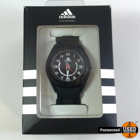 Adidas horloge zwart | Gebruikte staat