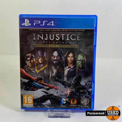 PS4 Game: Injustice Gods Among Us Ultimate Edition