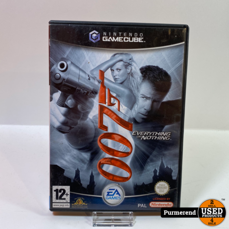 Nintendo GameCube Game: James Bond 007 Everything or Nothing