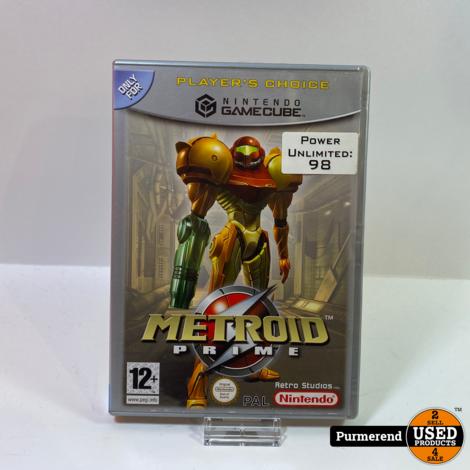 Nintendo GameCube Game: Metroid Prime