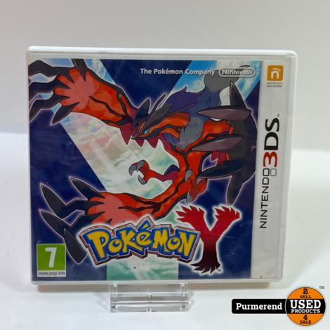 Nintendo 3DS Game: Pokemon Y