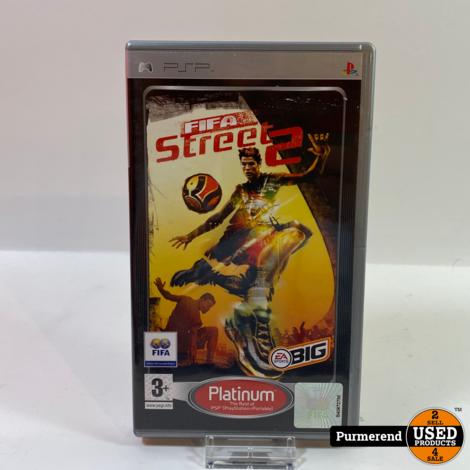 PSP Game: FIFA Street 2