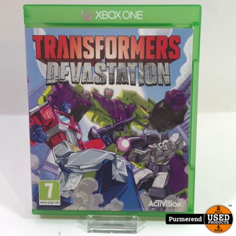 XBOX One Game : Transformers Devastation