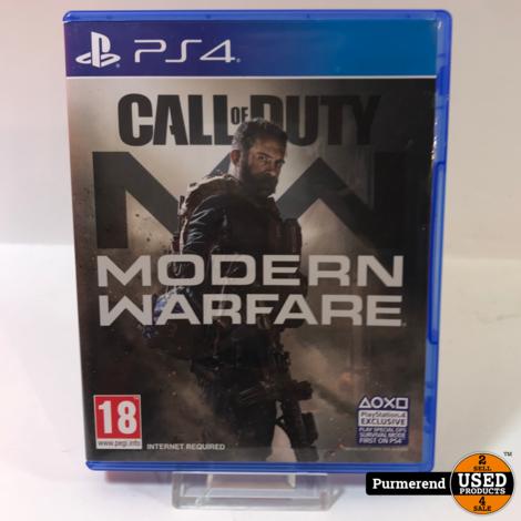 PS4 Game : Modern warfare
