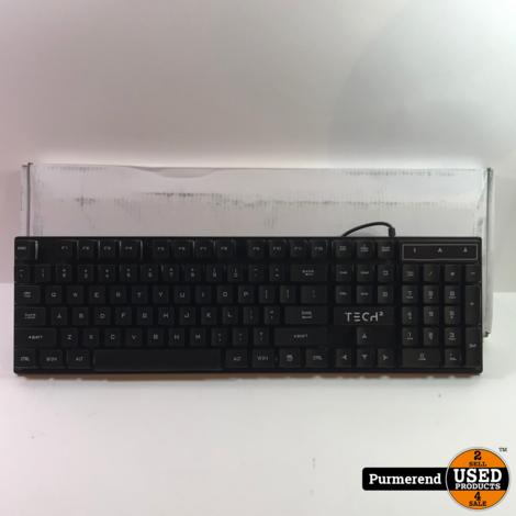 Tech-2 RGB USB-Toetsenbord   Nieuw