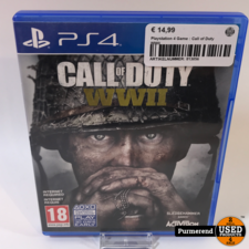 Playstation 4 Game : Call of Duty WWII