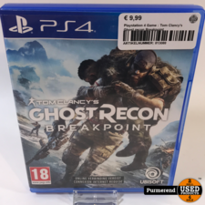 Playstation 4 Game : Tom Clancy's Ghost recon Breakpoint