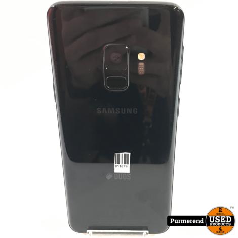 Samsung Galaxy S9 64GB Zwart   Goede Staat