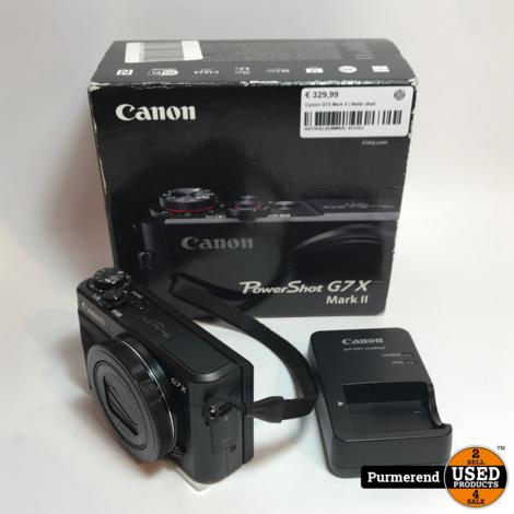 Canon G7X Mark II   Nette staat