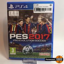 Playstation 4 Game : Pro Evolution Soccer 2017