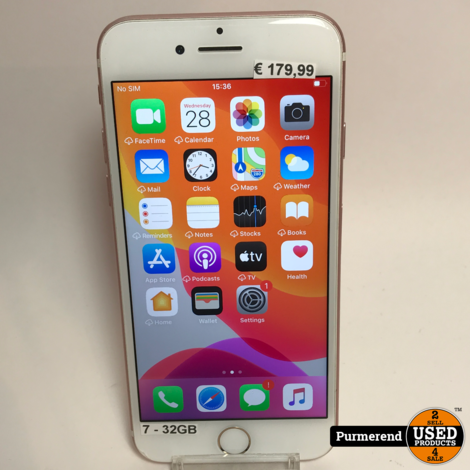 iPhone 7 32GB Rose Gold | Nette Staat