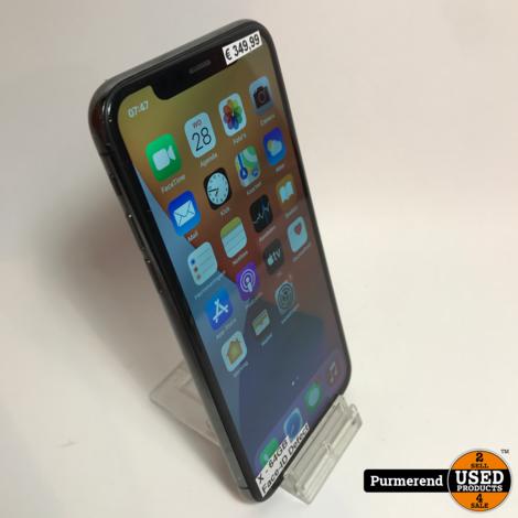 iPhone X 64GB Zwart   Nette Staat Met defect