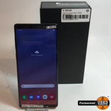 Samsung Galaxy Note 9 128GB Midnight Black   Redelijke staat