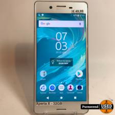 Sony Xperia X 32GB Wit   Gebruikte staat