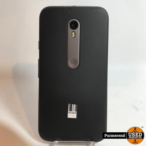 Motorola Moto G gen3 8GB Zwart | Gebruikte staat
