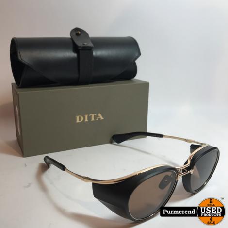 Dita Nacht Two DTS-128-52-01 Zwart / Goud Zonnebril | Nette Staat