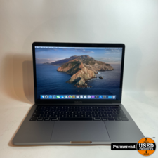 Apple Macbook Pro 13'' 2019 i5 2,4 8GB Ram 256GB SSD | Nette Staat