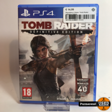 Playstation 4 Game: Tomb Raider Definitive Edition