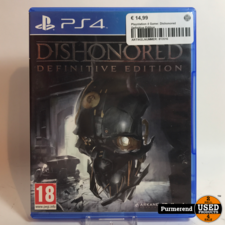 Playstation 4 Game: Dishonored Definitive Edition