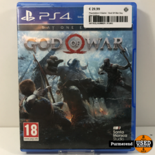 Playstation 4 Game : God Of War Day One Edition