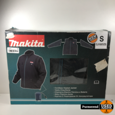 Makita CJ100DZS Verwarmde Jas / Bodywarmer 10,8V maat:S | Nieuw