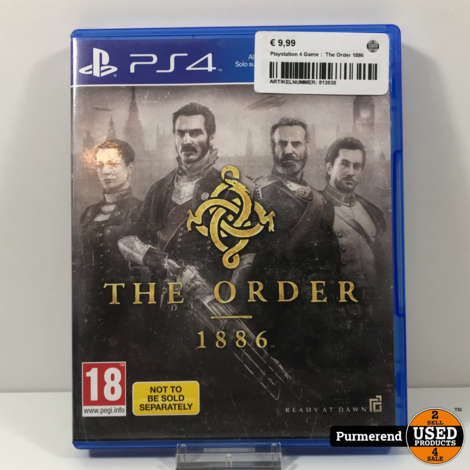 Playstation 4 Game :  The Order 1886