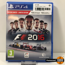 Playstation 4 Game : F1 2016
