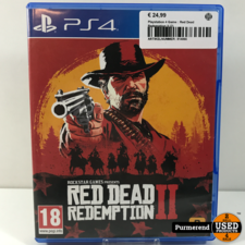Playstation 4 Game : Red Dead Redemption II (2)