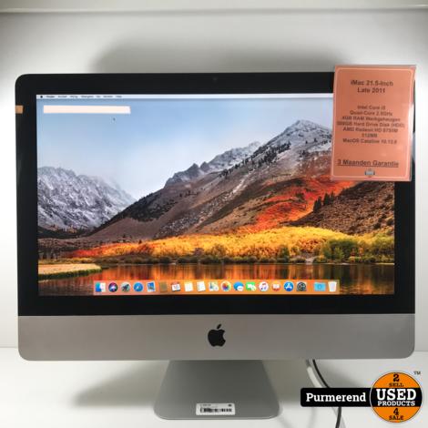 iMac 21.5-Inch Late 2011 i5/4GB/500GB