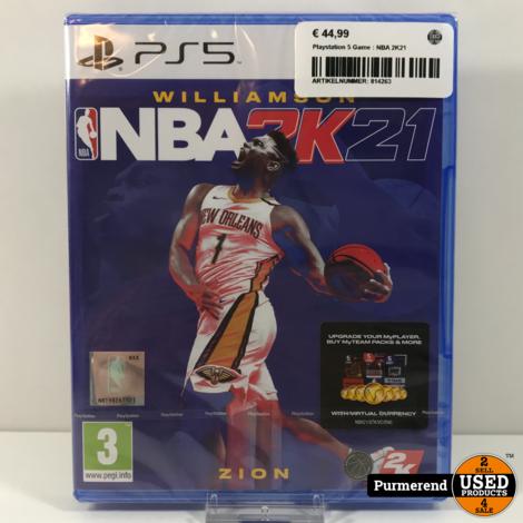 Playstation 5 Game : NBA 2K21