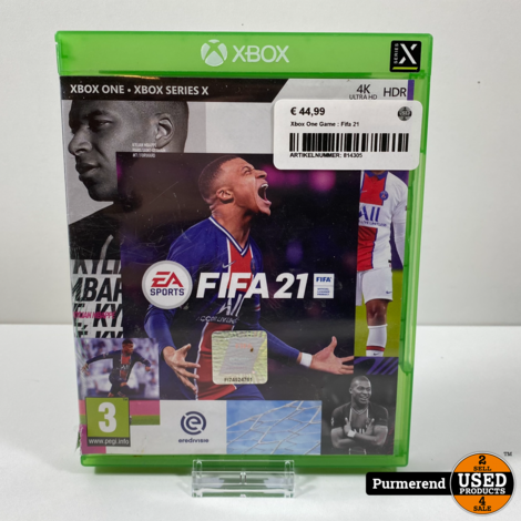 Xbox One Game : Fifa 21