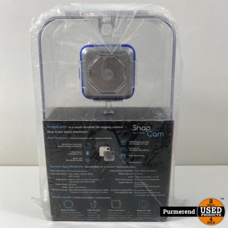 iOn SnapCam 1050 Portable HD-Videocamera | Nieuw in Seal