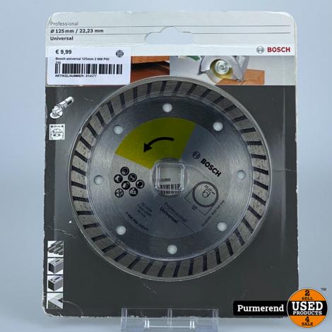 Bosch universal 125mm 2 608 P00 210