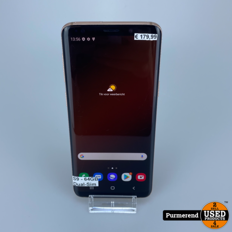 Samsung Galaxy S9 64GB Duos Gold