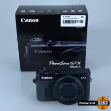 Canon Canon Powershot G7X Mark II (2)   Nette staat