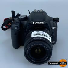 Canon Canon EOS 500D met 18-55 lens