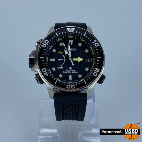 Citizen Promaster Diver Eco-Drive J250-S115477 | Nieuwstaat