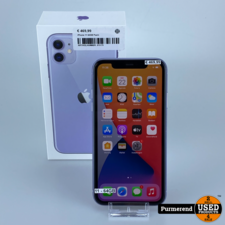 iPhone 11 64GB Paars