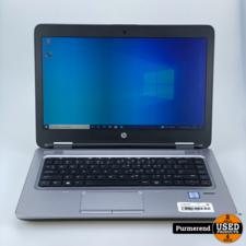 HP ProBook 640 G2   i5 - 8GB - 256GB   Nette staat