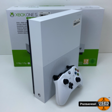 Xbox One S 1TB All Digital Wit   Nette staat