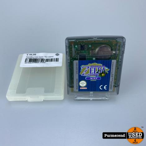 GameBoy Color Game: The Legend of Zelda Oracle of Ages